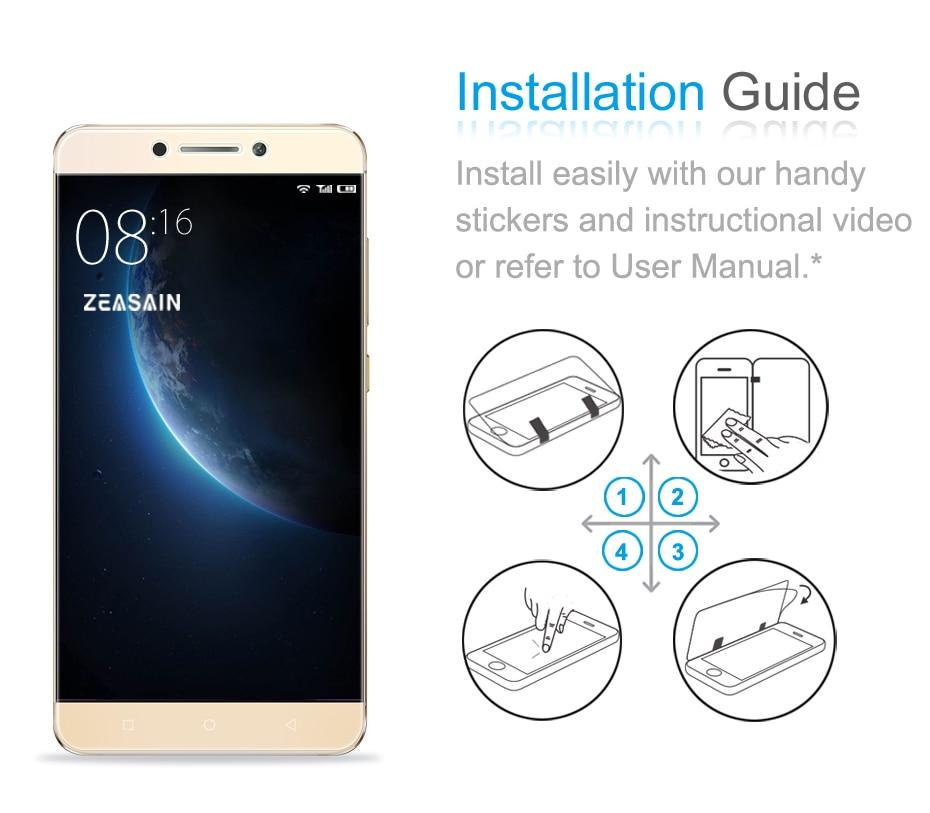 [Paquete de 2] Original ZEASAIN HD Clear 2.5D Premium Protector de - Accesorios y repuestos para celulares - foto 6