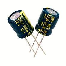 16V1000UF 10×13 электролитический конденсатор 200 шт.