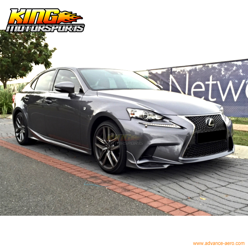 lexus is 250 2015 f sport. for 2014 2015 2016 lexus is250 is350 f sport tr d style front bumper lip splitters 2pc puin license plate from automobiles u0026 motorcycles on aliexpresscom is 250
