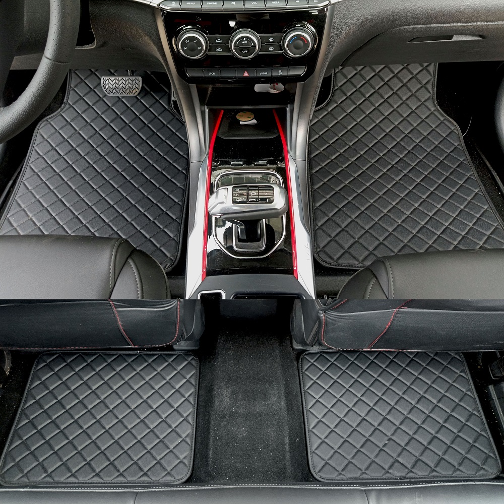 ZHAOYANHUA Universal car floor mats for all models Land Rover Discovery 3/4 freelander 2 Sport Range Sport Evoque Car styling