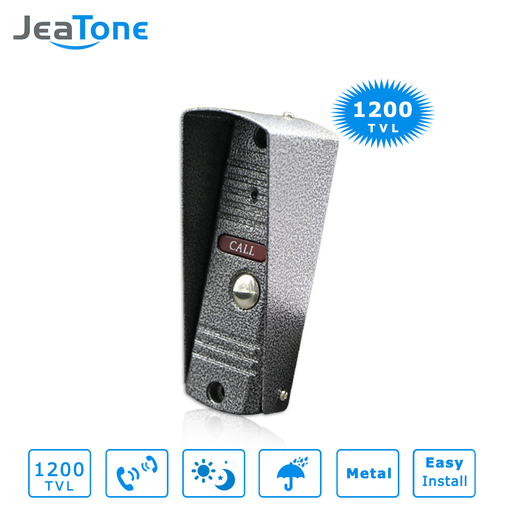 JeaTone Video Door Bell IR Camera 1200TVL Pinhole Lens Camera High Resolution Camera IP65 Waterproof