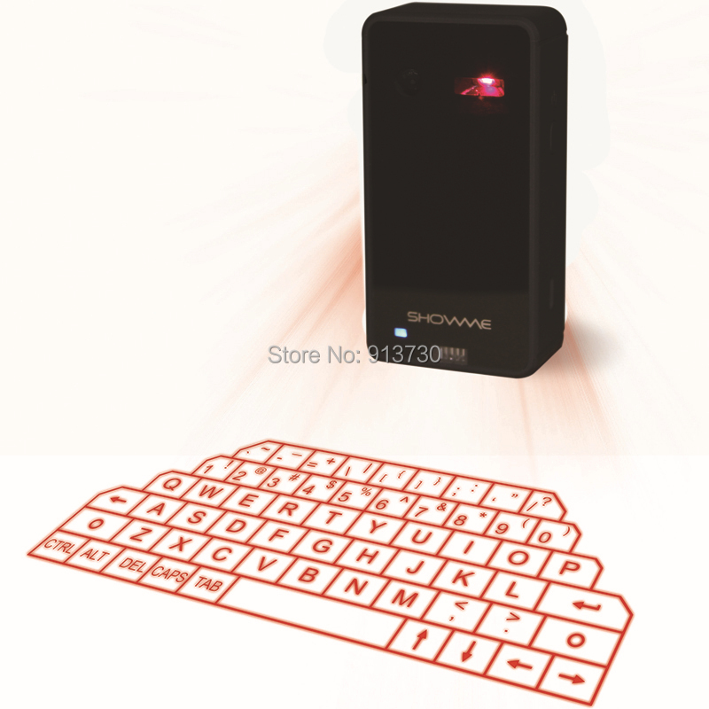 Virtual Laser Keyboard and Mouse for iPad iPhone tablet with Mini Bluetooth Speaker Wireless Bluetooth Keyboard