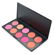 Professional 10 Colors Blush Palette Makeup Naked Blusher Bronzer Powder Palette Brand New Face Cosmetics Make Up Shimmer Matte