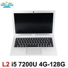 Windows 10 Notebook PC 13.3 Inch Core I5 7200U DDR4 Memory M.2 SSD Partaker L2 Laptop Computer