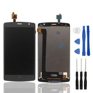 Image 2 - Ocolor pour ZTE Blade L5 LCD affichage et écran tactile bon écran numériseur assemblage remplacement avec outils pour ZTE Blade Mobile