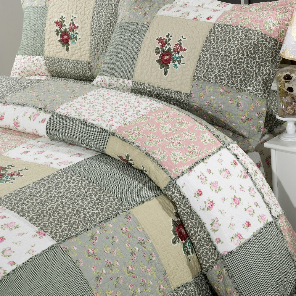 prairie star multi p quilt bedding patchwork cover warm duvet