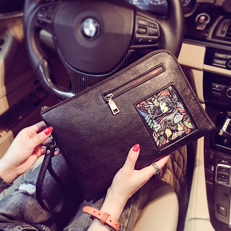 Tidog Fashion Korean Envelope Handbag IPAD Clutch Bag
