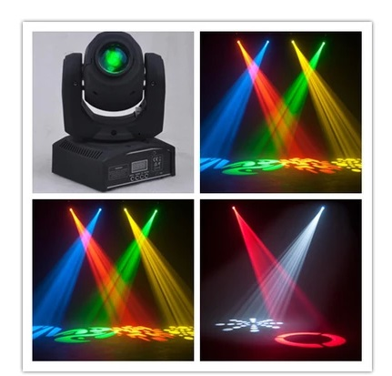 цена на 6pcs/lot, 10W Mini Spot 30W Led Moving Head light With Gobo Plate&Color Plate,High Brightness Mini Led Moving Head Light DMX512