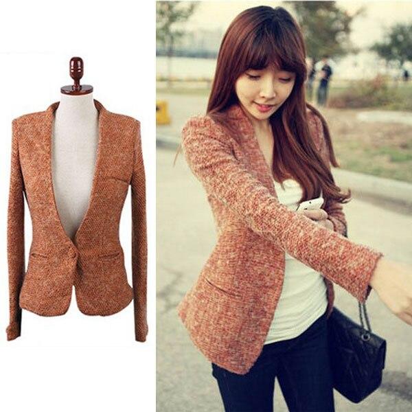 Veste blazer en laine femme