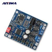 Big sale AIYIMA Bluetooth 4.0 Audio Receiver Power Digital HIFI Amplifier TDA7492 25W + 25W 12V