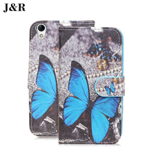 Case For Doogee Homtom HT16 HT 16 5.0 inch leather case Cartoon Stand Holder Card cover Phone Bag&cases