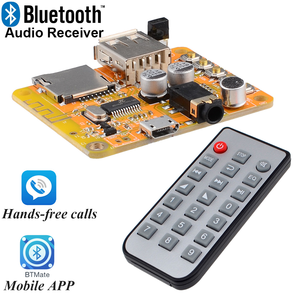 Diy Bluetooth 30 40 41 Audio Receiver Board Wireless Stereo Sound 13w Amplifier Circuit Using Ta8200ah Module 5v Free Shipping With Track Number 12003153 In From Consumer