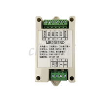 מתג קלט ופלט קלט פלט 2 דרך ממסר פלט מודול MODBUS RTU RS485 תקשורת