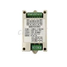 Switch input and output input output 2 way relay output module MODBUS RTU RS485 communication