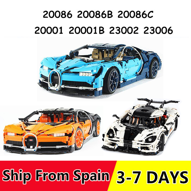 20001 20001B 20086 23002 23006 Building Blocks race Bricks Gift Toys for Children Compatible 42056 42083