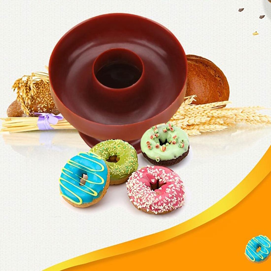 US Bakery Donut Doughnut Maker Cutter Mold Fondant Cake Bread Desserts DIY Tools