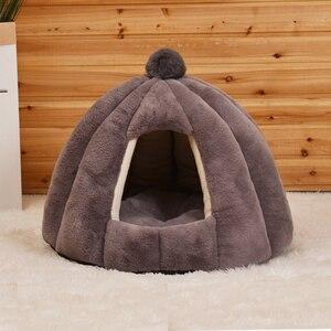 Image 2 - JORMEL зимний теплый лежак для собак и кошек, подходит для домашних питомцев, стирается в стиральной машине