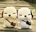 Nueva moda coreana perro de la felpa 20 cm amantes presenta creativo Cottton suave Animal de Stray Dogs juguetes para los niños, envío gratis