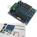 Kit diy kit AT89c2051 + controlador de temperatura 18B20 digital design MCU termômetro eletrônica DIY
