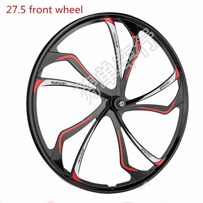 Mountain bike wheel front/rear wheel 27.5inch magnesium alloy bearing integrated wheel for MTB mountain bicycle