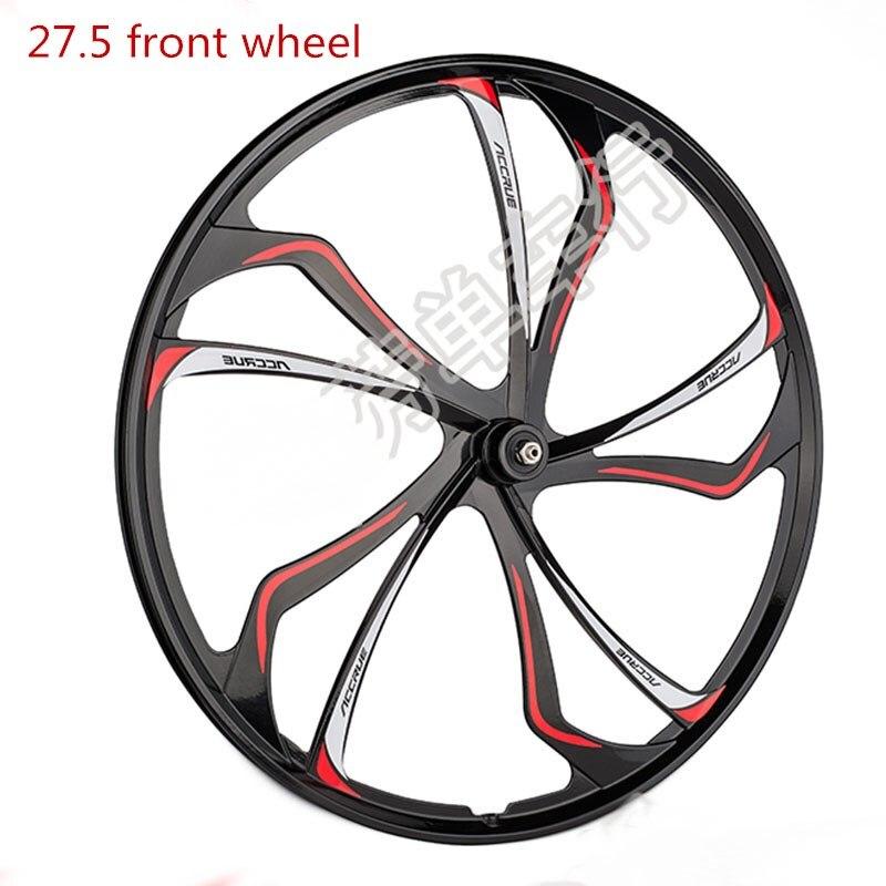 VTT roue avant/arrière roue 27.5 pouces en alliage de magnésium roulement roue intégrée pour vtt vélo de montagne