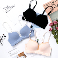 Sexy Deep U Cup Bras For Women Push Up Lingerie Seamless Bra Wire Free Bralette Backless Plunge Intimates Female Underwear цена и фото
