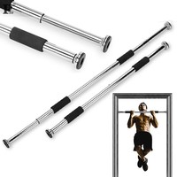 Pull Up Bar alta calidad equipo de deporte de la puerta de casa ejercicio Fitness Equipment Workout Gym tamaño ajustable Chin Up Bar