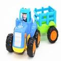 4PCS/LOT Mini car Educational Soft Montessori children intelligent creative interactive toys