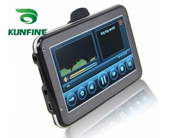 4,3 Zoll Wince 6,0 Auto GPS Navigation Radio 8 GB 256 M Lkw Fahrzeug GPS Navigatoren Lkw Rückansicht Kamera bildschirm Kostenloser Karte Upgrade