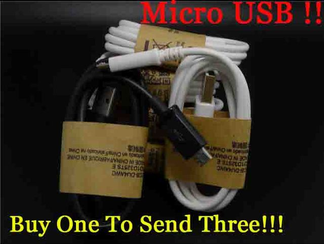 100pcs  2A V8 data cable Micro USB for samsung xiaomi huawei gionee HTC lenovo Coolpad oppo Android  1M  fast charging