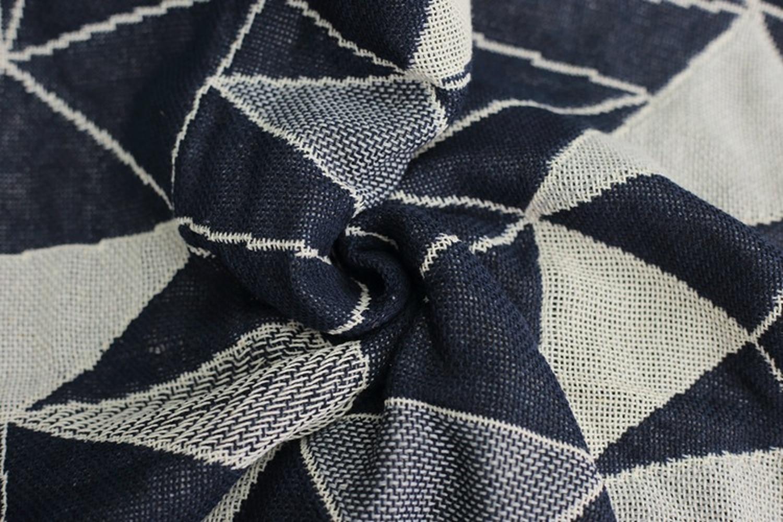 Geometrica Grossolani filo di cotone Retro tappeto di spessore coperta tie dye Arte Etnica di cotone coperta letto soggiorno feltri parete arazzo - 4