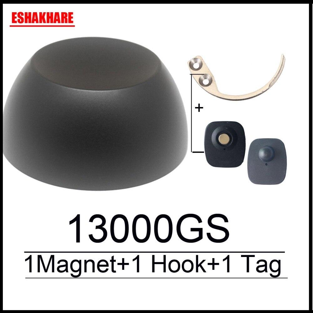 13000GS golf universal aimant détacheur anti vol à l'étalage magnétique de sécurité tag remover 1 clé détacheur crochet tag détacheur