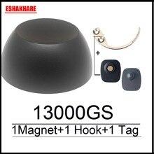 13000GS golf universal magnet detacher anti  shoplifting magnetic security tag remover 1 key detacher hook for sistema eas