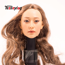 Exquisite 1/6 Scale Accessories Custom Head Sculpt Carving Female KUMIK 13-10 Fit 12Phicen CY hot toys woman Body Action Figure