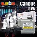 55 W 12 V halógena y lámpara de xenón de Canbus HID kit h4-2 h13-2 9004/9007-2 car fuente de luz 4300 6000 5000 8000 10000 kit xenon h4-2 55 w