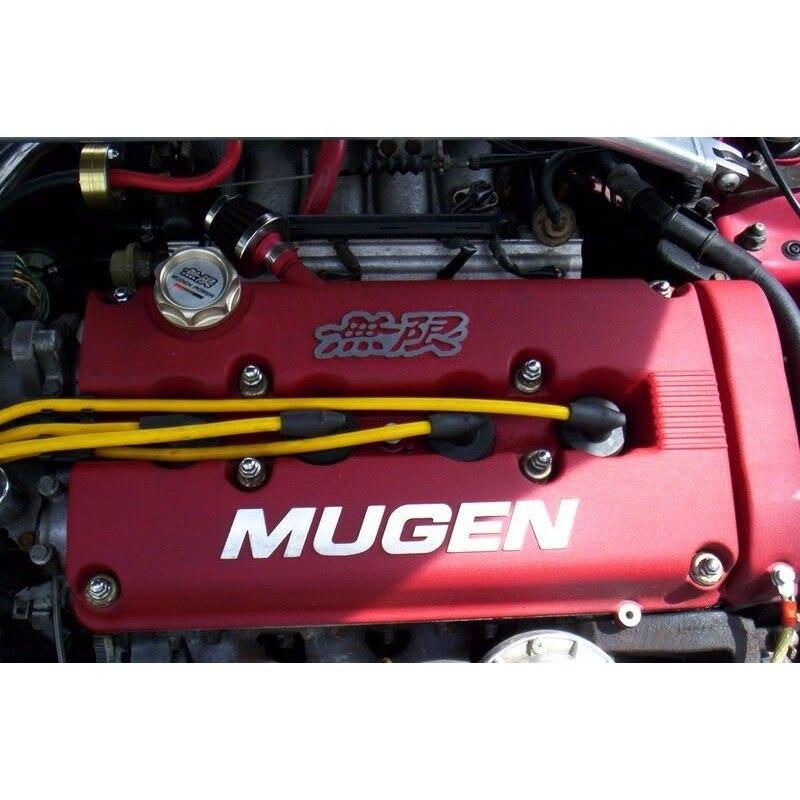 Couvercle de chambre de culbuteur de Style MUGEN pour Honda Civic B16 B17 B18 VTEC B18C GSR PQY-VCC01 - 5