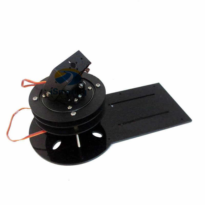 Official iSmaring 2 DOF All Metal Rotation Base Platform for Robot Arm with 2pcs High Torque servo MG996r/DS3218 Robotic Teachin