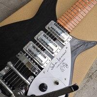 325 electric guitar fingerboard has varnish short neck Chord spacing 527 mm