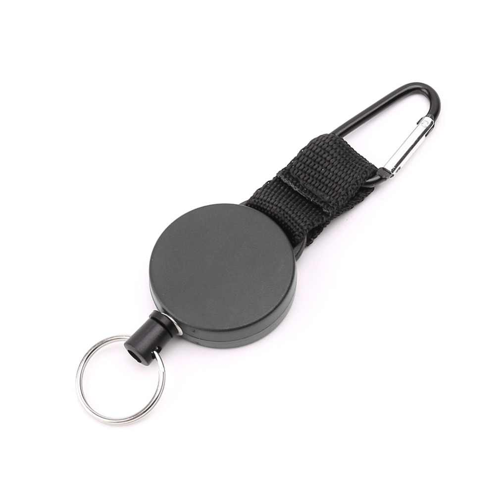 Safety Anti-lost Rope Burglar Quickdraw Retractable Keyrings Keychains Tools
