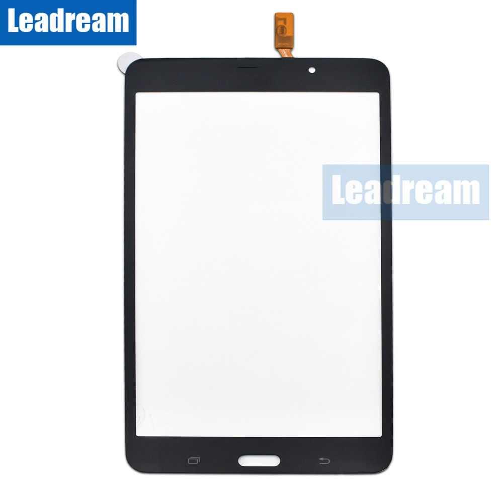 20 piezas digitalizador de pantalla táctil lente de cristal con cinta adhesiva para Samsung Tab 4 7,0 T230 T231 DHL gratis