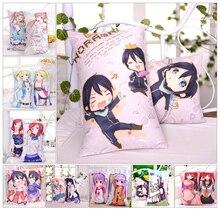 Zone-3 Moeyu Anime 24PCS Japanese Otaku Hugging Body Pillow Case Pillow Cover Bedding Pillowcase Cushion 2WAY Fabric 35*55cm