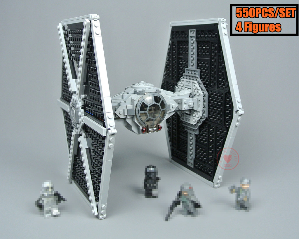 Model Building Toys & Hobbies New Star Wars First Order Special Forces Tie Fighter Fit Legoings Star Wars Figures Model Building Block Bricks Gift Kid Toys