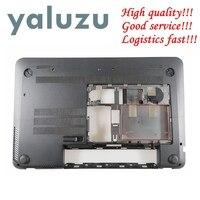 YALUZU NEW Laptop Bottom Base Case Cover for HP Envy 15 J 15 J000 15 J100 lower case D Shell 720534 001 6070B0660802 black