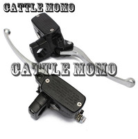 Scooter Left Right Levers 1 Piece 7/8 Motorcycle Brake Hydraulic Headlebar Control Cylinder Master Clutch Lever Aluminum