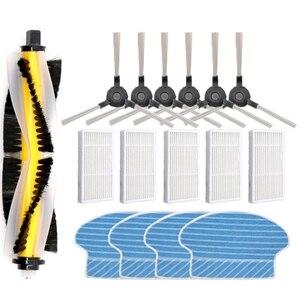 Image 1 - Dla Proscenic 780T 790T Robot odkurzający szczotka rolkowa szczotka boczna akcesoria do czyszczenia gospodarstwa domowego mocne narzędzie do prania