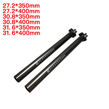 Mountain Road Bike Bicycle Carbon fiber Seatpost Cycling Seat tube 27.2 /30.8/31.6mm Seat post MTB Bicycle Parts Accessories full carbon fiber road mountain bike seatpost mtb bicycle seat post tube vertical 0 degree 27 2 30 8 31 6 400mm 3k ud
