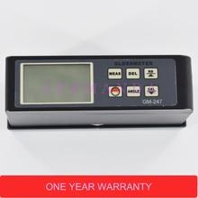 Multi Angle Glossmeter GM-247 20/45/75 Degree Gloss Meter 0.1-200 GU Backlight display gloss tester