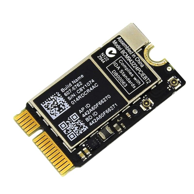 WiFi Bluetooth AirPort Card BCM943224PCIEBT2 for font b Apple b font font b MacBook b font