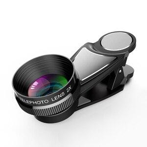 Image 5 - HD 2X ومح عدسة مجهر 65 مللي متر آلة تكبير تليفوتوغرافي الهاتف كاميرا عدسة لهواوي p20 لايت nova 3 جميع الهاتف الذكي
