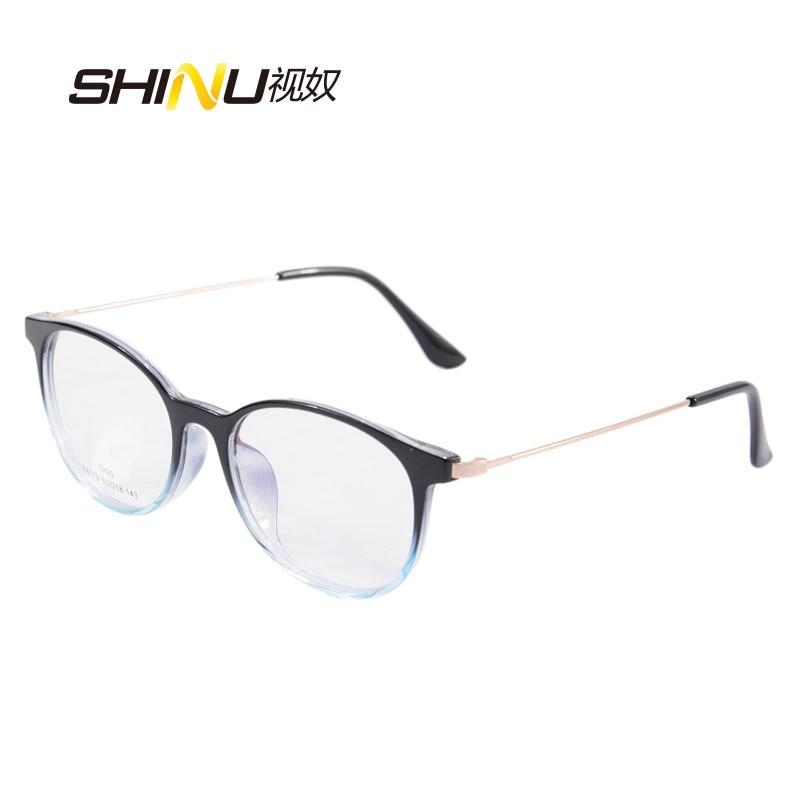 Frauen Progressive Lesebrille Weit Tr90 Kurzsichtig Lesen Licht Sh015 Anti Presbyopie Brennweite Blaues Brillen Multi nqCfw0x